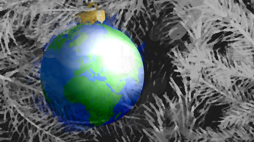 Globe Bauble