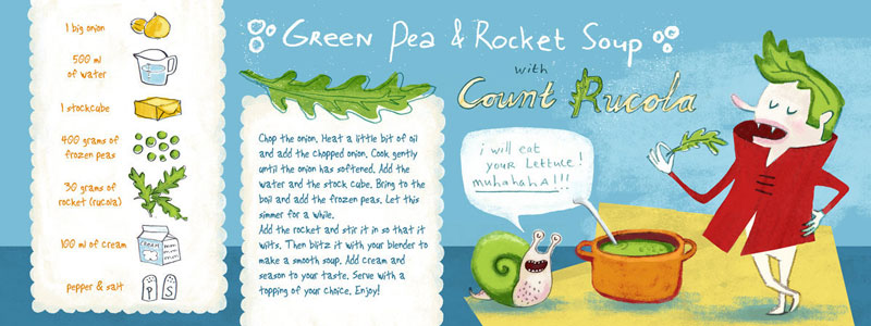 Green Peas & Rocket Soup by Esther van den Berg from Amsterdam, the Netherlands