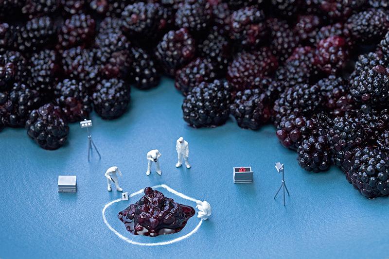Blackberry CSI. © Christopher Boffoli