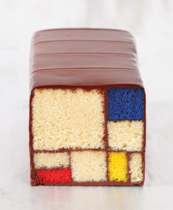 Caitlin's Mondrian creation. Image courtesy of Ten Speed Press, © 2013 Mondrian/Holtzman Trust.
