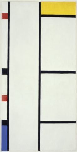 An original Mondrian. Image courtesy of Ten Speed Press, © 2013 Mondrian/Holtzman Trust.