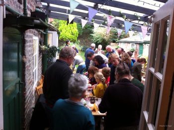 A food swap event in York. Image © Apples for Eggs