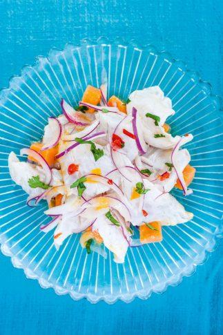 Don Ceviche dish. Image © Paul Winch-Furness